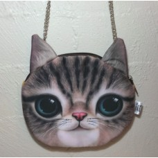 Cat Face Cross Body Bag