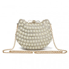 Le Chat Evening Bag - Pearl