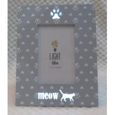 Meow Light-Up Photo Frame