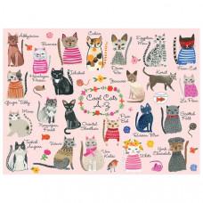 1000 Piece Puzzle - Cool Cats A - Z