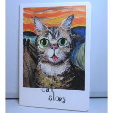A Cat's Story Notebook