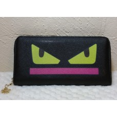 Crazy Eyes Cat Wallet