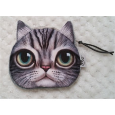 Cat Face Purse 10.5cm