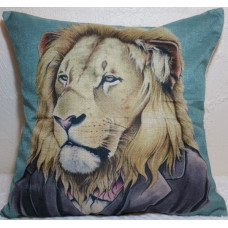 Grandpa Lion Cushion