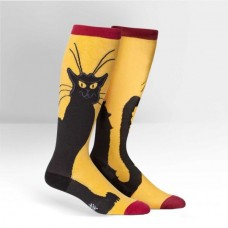 Chat Noir Knee High STRETCH-IT Socks