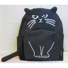 Purrfect Cat Backpack - Black