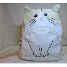 Purrfect Cat Backpack - Cream Tabby