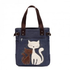 Fuzzy Cat Tote