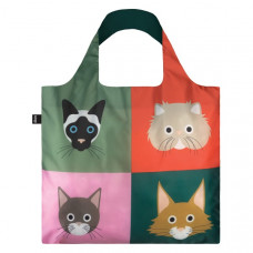 Cats Fold Up Reusable Shopping Bag