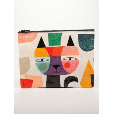 Mister Cat Zip Up Pouch