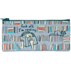 F*ck Off I'm Reading Zip Up Pouch/Pencil Case