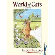 World of Cats to Paint or Colour