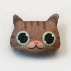 Cool Cats Plush Cat Brooch #3