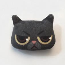 Cool Cats Plush Cat Brooch #9