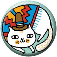 Button - Andes Cat