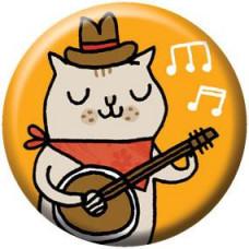 Button - Banjo Kitty