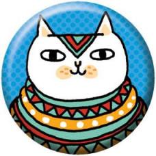 Button - Egyptian Cat