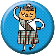 Button - Scottish Kitty