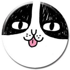 Button - Happy Cat