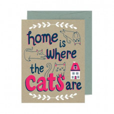 Cards - Home is Where The Cats Are