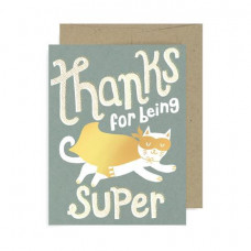 Card - Thanks For Being Super