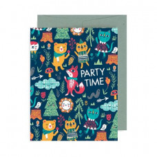 Card - Party Time Animals