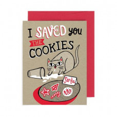 Card - Saved you the Cookies