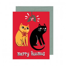 Card - Merry Kissmas