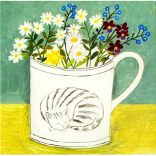 Card - Cat Cup