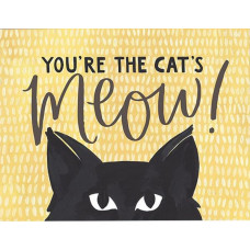 Card - You're The Cat's Meow