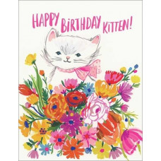 Card - Happy Birthday Kitten
