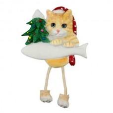 Ginger Tabby Cat Dangle