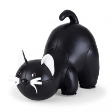 Bookend Classic Cat - Black