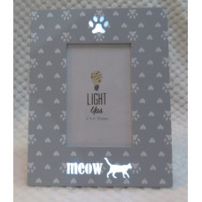 Meow Light-Up Photo Frame