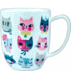 Pretty Kitty Faces Mug
