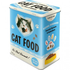 Storage Tin - Cat Food 3L