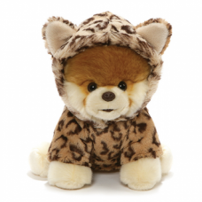 Boo the Dog Dressed as a Leopard Plush