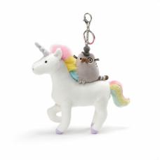 Fancy Pusheen on Unicorn Deluxe Clip