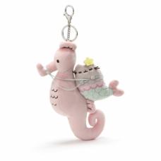 Pusheen Mermaid & Seahorse Deluxe Clip