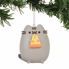 Pusheen Ornament - I Love Pizza
