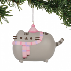 Pusheen Ornament - Winter