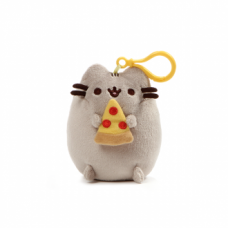 Pusheen Backpack Clip - Pizza