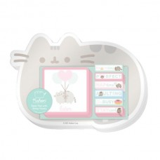 Simply Pusheen Desk Pad with Sticky Notes