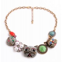 Wow Cat Statement Necklace