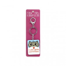 I Like Your Cattitude Keyring