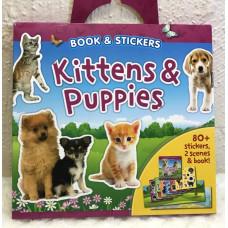 Kittens & Puppies Sticker Book