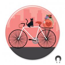 Magnet - Cat On A Bike