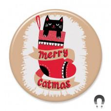 Magnet - Merry Catmas
