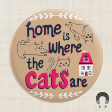 Magnet - Home Is Where The Cats Are