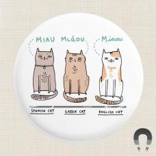 Magnet - International Cats